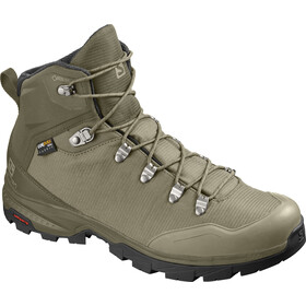 Salomon Outback 500 GTX Kengät Miehet, burnt olive/mermaid/black